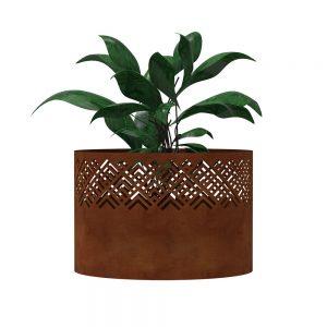Corten steel planters Australia indoor