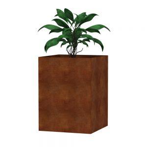 Corten steel planters Australia for outdoor